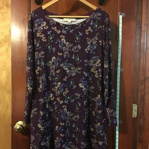 Loft plus size dress size 16/18